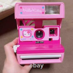 Sanrio Hello Kitty Polaroid Instant Camera Pink USED Tested From Japan