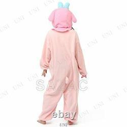 Sanrio My Melody SAZAC Fleece Kigurumi Cosplay Costume Halloween From Japan F/S