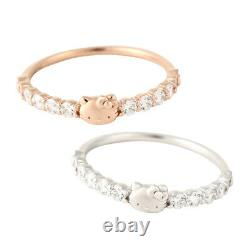 Sanrio Ring Hello Kitty Eternity Ladies from Japan a0913