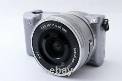 Sony Alpha a5000 mirrorless camera body with PZ 16-50mm lens from japanMINT