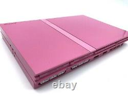 Sony PlayStation 2 Console Pink Limited Color SCPH-77000 From Japan
