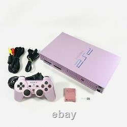Sony PlayStation 2 Sakura Pink Console SCPH 39000 from japan PS2 06-08