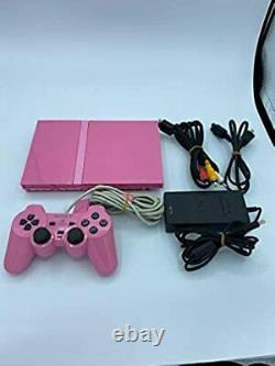 Sony PlayStation 2 Slim Limited Edition Pink Console FJ2370782 77000 From JP