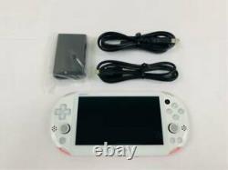 Sony PlayStation PS Vita Slim White Pink Slim PCH-2000 ZA19 From Japan