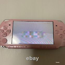 Sony PlayStation Portable PSP-3000 Blossom Pink Game console from japan Courier