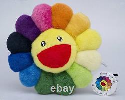 TAKASHI MURAKAMI Ohana Flower Cushion Rainbow Pillow Kaikai Kiki From Japan New