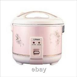 TIGER JNP-1800P Rice Cooker 10 Cups 220V Pink Fast Shipping From Japan NEW