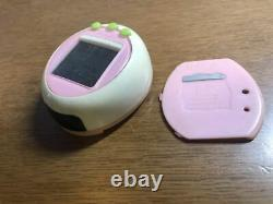Tamagotchi Plus Color Cream and Pink Green Button Bandai Virtual Pet From Japan