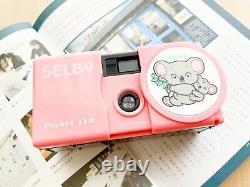 UNUSEDKoala Selby POCKET 110 Film Camera From Japan TOY CAMERA