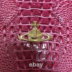 VIVIENNE WESTWOOD ANGLOMANIA Heart Hand Shoulder Bag Pink Orb Women's From Japan