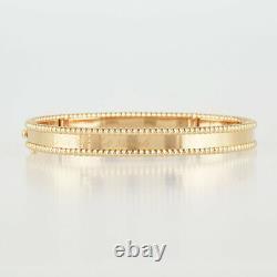 Van Cleef & Arpels Perle Senior Tulle 18K Pink Gold (750) Bracelet from Japan