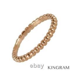 Van Cleef & Arpels Perrelet Small 18K Pink Gold(750) ring from Japan
