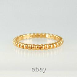 Van Cleef & Arpels Perrelet Small 18K Pink Gold(750) size 51 ring from Japan