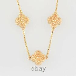 Van Cleef & Arpels Sweet Alhambra 18K Pink Gold (750) Bracelet from Japan
