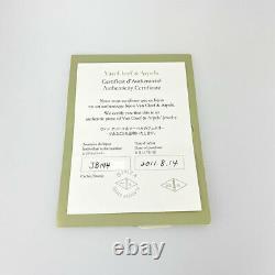 Van Cleef & Arpels Vintage alhambra 18K Pink Gold(750) Necklace from Japan