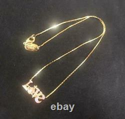 Vivienne Westwood Necklace Love Logo Orb Pink no Box From Japan Unused Rare F/S