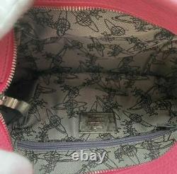 Vivienne Westwood Shoulder Bag Orb Check Pink Canvas from Japan