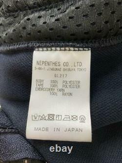 Besoins Pantalons De Piste Narrow Navy X Pink Line Taille-m Utilisé Du Japon F/s