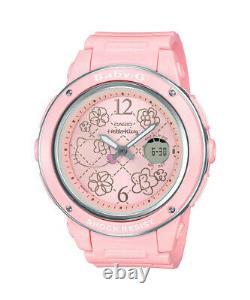 Bonjour Kitty Casio Baby-g Choc Bga-150kt-4bj Wrist Watch F/s Du Japon
