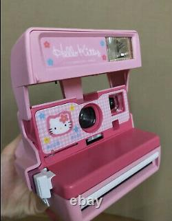 Bonjour Kitty Polaroid Caméra Instantanée Rose Du Japon Sanrio Bag & Manual&album