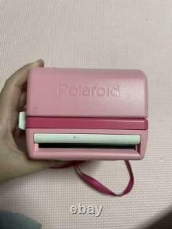 Bonjour Kitty Polaroid Instant Camera Pink Du Japon Sanrio Avec Sac F / S