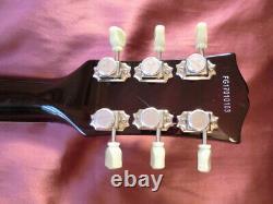 Burny Les Paul Type Guitare Électrique Modèle Lsd-55n Bateau Du Japon 0604