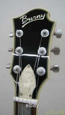 Burny Les Paul Type Guitare Électrique Plc-45 Bateau Du Japon 0123