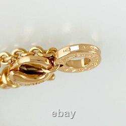 Bvlgari 18k Or Rose (750) B-zero1 B-zero1 Nettoyé Bracelet Du Japon
