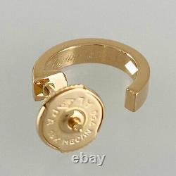 Cartier Amour 18k Pink Gold (750) Bébé Amour Nettoyé Boucle D'oreille Du Japon