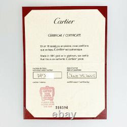 Cartier Bébé Amour 18k Or Rose(750) Mini Vieux Modèle Nettoyé Collier Du Japon