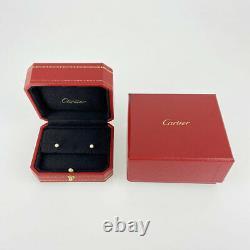 Cartier Diaman Léger De Cartier Xs 18k Pink Gold 750 Diamond Boucle D'oreille Du Japon