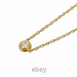 Cartier Diaman Léger De Cartier Xs 18k Pink Gold Diamond Collier Du Japon