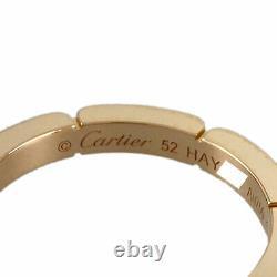 Cartier Maiyon Panthere 18k Pink Gold (52) Bague Nettoyée Du Japon