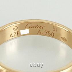 Cartier Mini Amour Or Rose 18k(750) No. 51 Bague Du Japon