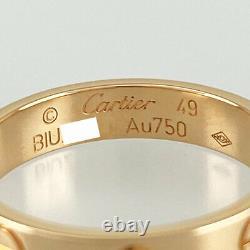 Cartier Mini Amour Or Rose 18k (750) Notation Taille 49 Bague De Japon