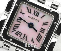 Cartier Panthere Ruban W61003t9 Quartz Stainless Montre Homme Du Japon B0302