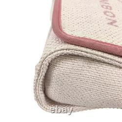 Chanel Deauville Wchain A93183 White X Rose Campus Cross Body Bag Du Japon