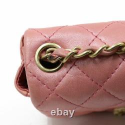 Chanel Sac D'épaule Chaîne Rose Du Corps Crosssolde De Japan