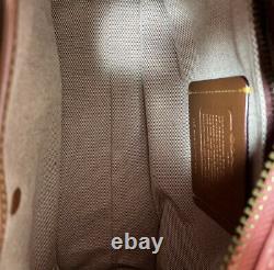 Coach Rogue 25 Tea Rose Applique Sac Épaule Rose Utilisé Livré Du Japon