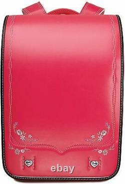 Coulomb Randoseru A4 School Backpack 2020 Rose Rouge Bl. C'est Rx. 0021 F/s Du Japon Nouveau