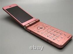 Docomo Sharp Sh-01j Pink Aquos Keitai 2 Phone De Flip Androis Du Japon