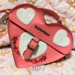 Dr Martens Sac Satchel Valentine's Heart Pink Du Japon M Limited
