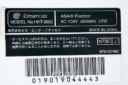 Dreamcast Sega DC Hello Kitty Rose Console De Japon Avec Contrôleur Clavier