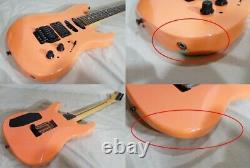 Fender Strat Shm-75 Electric Guitarusa Design Rose 3.50kg Du Japon Excellent