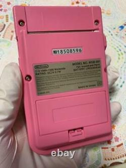 Gameboy Pocket Pink Console System Japan Collectors Item Nouveau Japonais Du Japon