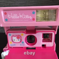 Hello Kitty Polaroid Instant Camera Rose Du Japon Sanrio Bag & Album Set F/s