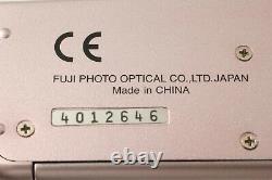 Inutilisé Dans La Boîte Fujifilm Natura S Rose Rose 35mm Caméra 24mm F1.9 Du Japon