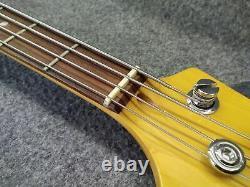 K. Garage Kjb-200 Jazz Bass Rose Avec Soft Case Emballage Parfait Du Japon K