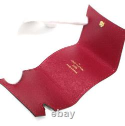 Louis Vuitton Etui Ecouteur Monogram Trifold Earphone Case #51764 Du Japon