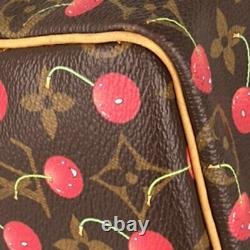 Louis Vuitton Monogram Cherry Speedy 25 Takashi Murakami M95009 Du Japon
